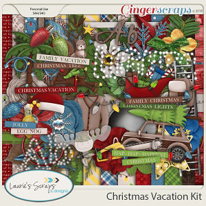 Christmas Vacation Page Kit