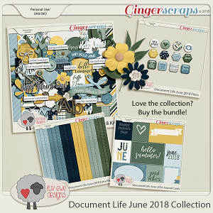 Document Life June 2018 Collection by Luv Ewe Designs