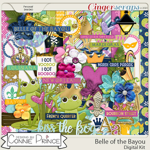 Belle of the Bayou - Kit by Connie Prince