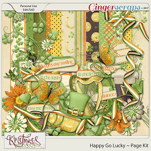 Happy Go Lucky Page Kit