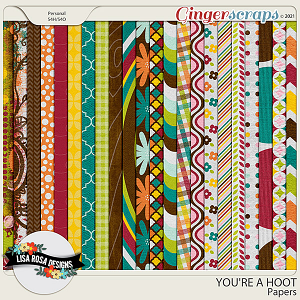 You're a Hoot - Papers by Lisa Rosa Designs