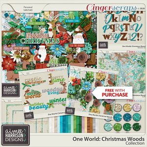 Christmas Woods Collection by Aimee Harrison