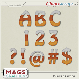Pumpkin Carving ALPHA by MagsGraphics