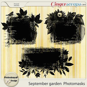 September garden Photomasks
