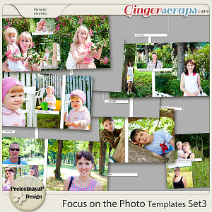 Focus on the Photo Templates Set3