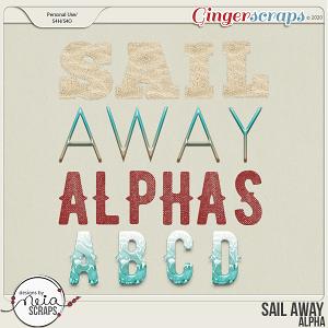 Sail Away - Alpha - by Neia Scraps