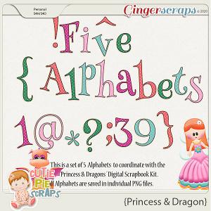 Princess & Dragon Alphas