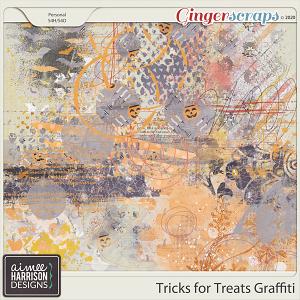 Tricks for Treats Graffiti by Aimee Harrison