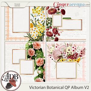 Heritage Resource - Victorian Botanical Quick Page Album v2 by ADB Designs