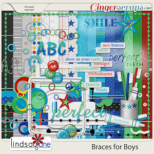 Braces for Boys by Lindsay Jane
