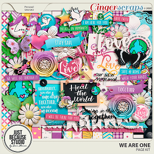 We Are One Page Kit by JB Studio