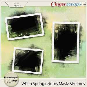 When Spring returns Masks&Frames