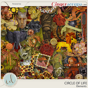 Circle Of Life Elements by Ilonka's Designs