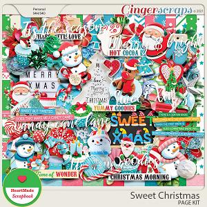Sweet Christmas kit by HeartMade Scrapbook