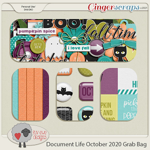 Document Life October 2020 Grab Bag by Luv Ewe Designs