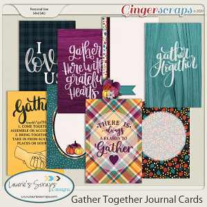 Gather Together Journal Cards