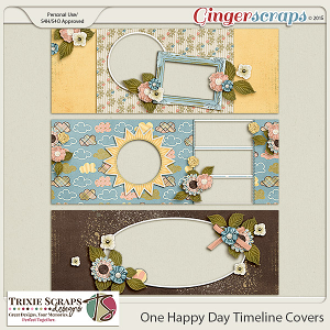 One Happy Day Timelines by Trixie Scraps Designs