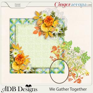 We Gather Together Extras Trio by ADB Designs
