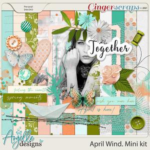 April Wind. Mini kit by Angelle Designs