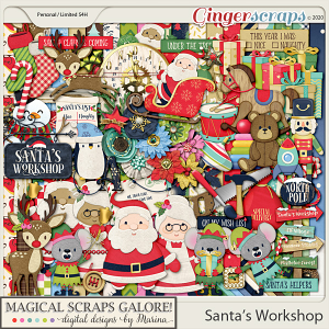 Santa's Workshop (page kit)