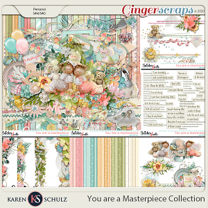 You are a Masterpiece Collection by Karen Schulz