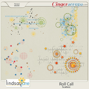 Roll Call Scatterz by Lindsay Jane
