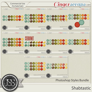 Shabtastic Photoshop Styles Bundle