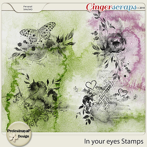 In your eyes Stamps