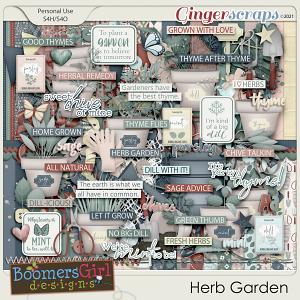 Herb Garden by BoomersGirl Designs