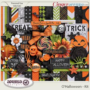 O'Halloween Kit by Aprilisa Designs