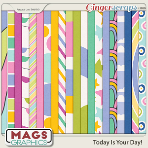 Today Is The Day PAPERS by MagsGraphics