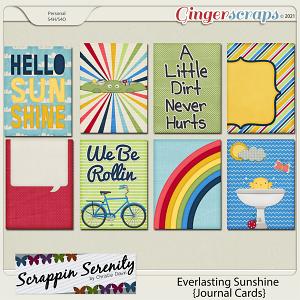 Everlasting Sunshine - Journal Cards