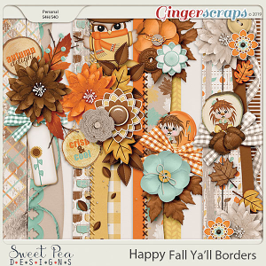 Happy Fall Ya'll Borders
