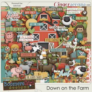 Down on the Farm by BoomersGirl Designs