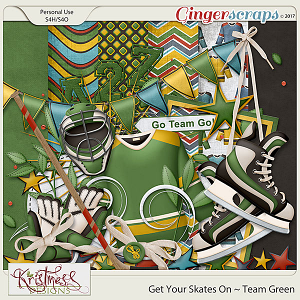Get Your Skates On ~ Team Green Add-on