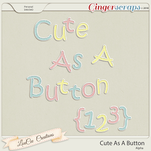 Cute As A Button Alpha