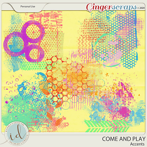 Come And Play Accents by Ilonka's Designs