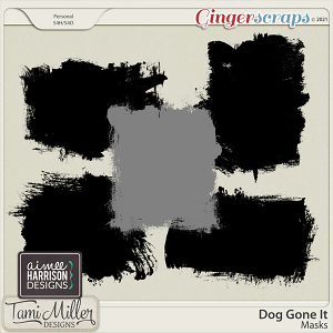 Dog Gone It Masks by Tami Miller and Aimee Harrison