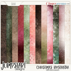 Christmas Nostalgia {Blended Papers}