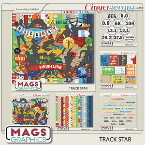 Track Star BUNDLE by MagsGraphics