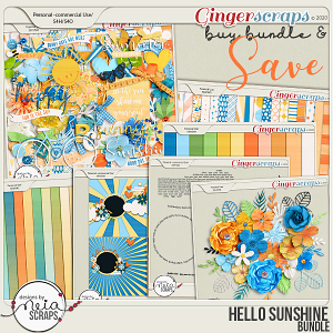 Hello Sunshine - Bundle - by Neia Scraps