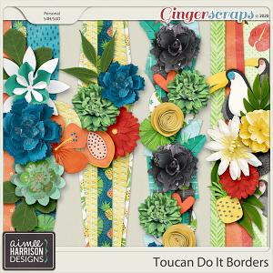 Toucan Do It Borders by Aimee Harrison