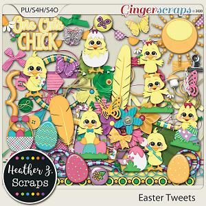 Easter Tweets ELEMENTS by Heather Z Scraps