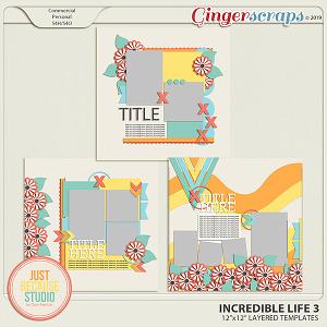Incredible Life 3 Templates By JB Studio