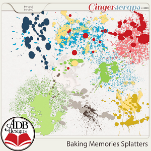 Baking Memories Splatters by ADB Designs