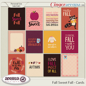 Fall Sweet Fall - Cards