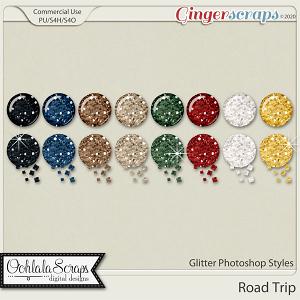 Road Trip Glitter CU Photoshop Styles