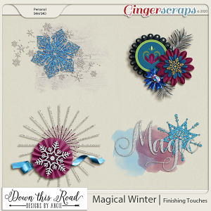 Magical Winter | Finishing Touches