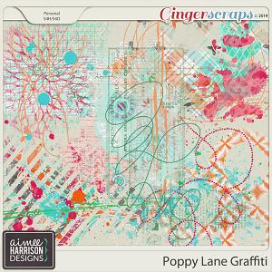Poppy Lane Graffiti by Aimee Harrison