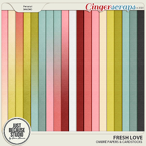 Fresh Love Ombre Papers by JB Studio
